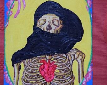 Veiled Skeleton