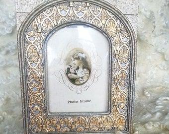 Home decor, Vintage, vintage Photo frame,Golden,modern trend