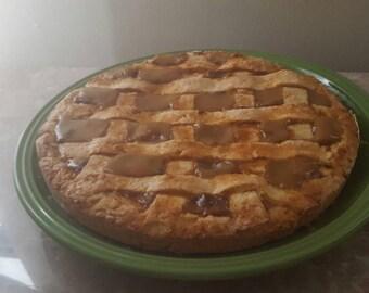 "Dulce de Leche Cake/pie, 9"" ""Pastafrola Uruguaya de Dulce de Leche"""