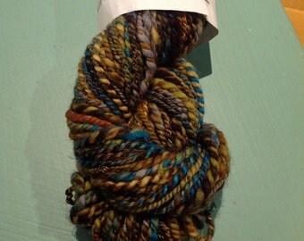 Hand spun yarn 100% wool