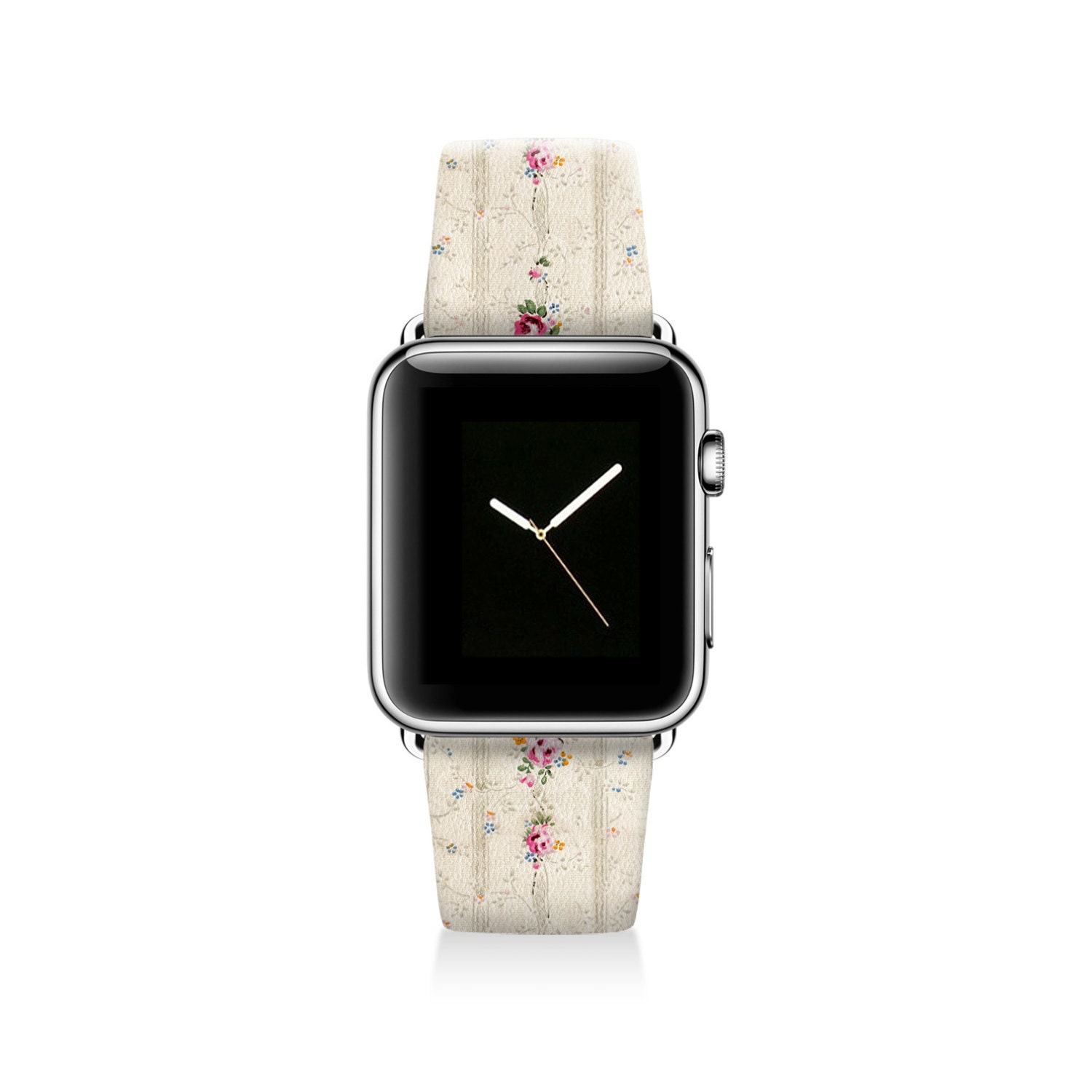 Floral Apple watch band women Apple watch strap genuine