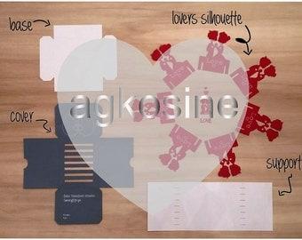 Lovers Tea Box Creation Kit
