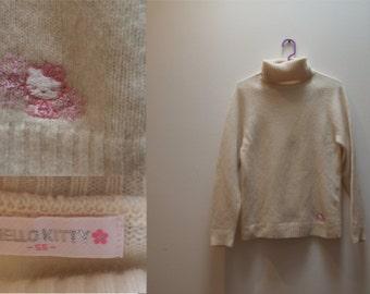 VTG HELLO KITTY turtleneck sweater