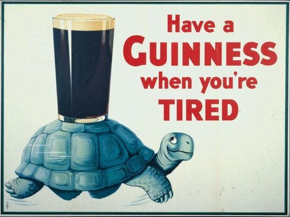 Guinness poster | Etsy