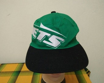 Rare Vintage NEW YORK JETS Cap Hat Free size fit all