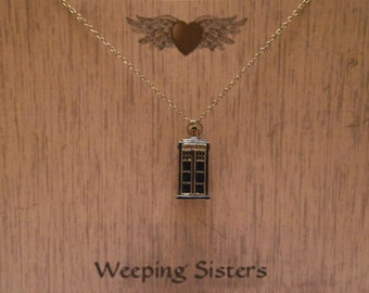 Tardis Necklace Doctor Who
