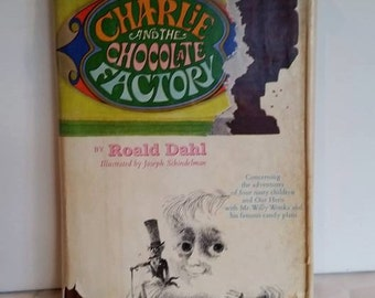 Charlie and the Chocolate Factory, Hardcover, Early Edition, 1964, Collectible
