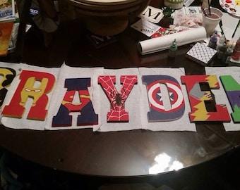 Superhero Letters