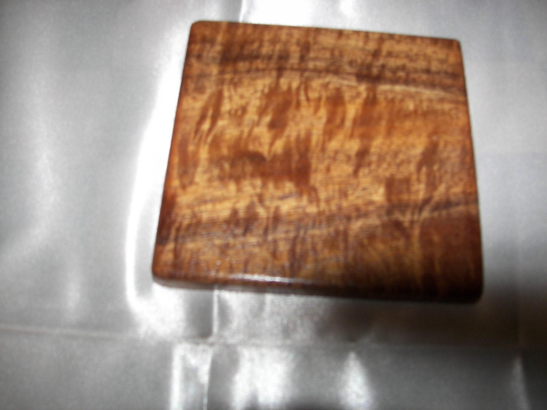 Handmade koa wood drink coasters set of 4 for Handmade drink coasters