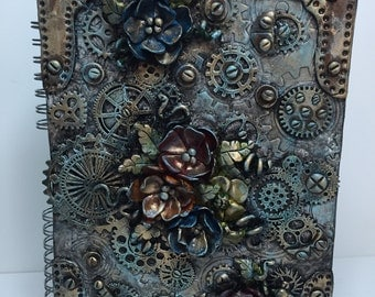 Steampunk Journal Book
