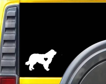 Newfoundland Decal Sticker *J538*