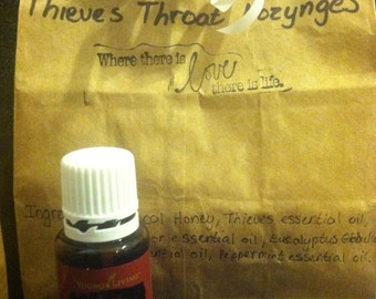 All-Natural Thieves Cough Drops/ Throat Lozynges 30 ct