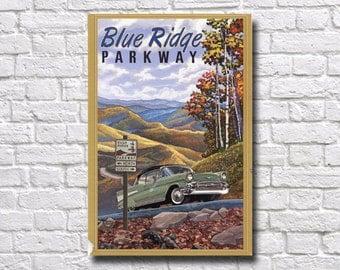 Blue Ridge Parkway Poster - #0542