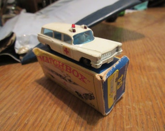 Matchbox No. 54 S&S Cadillac Ambulance