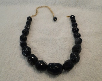 Vintage signed Coro chunky necklace