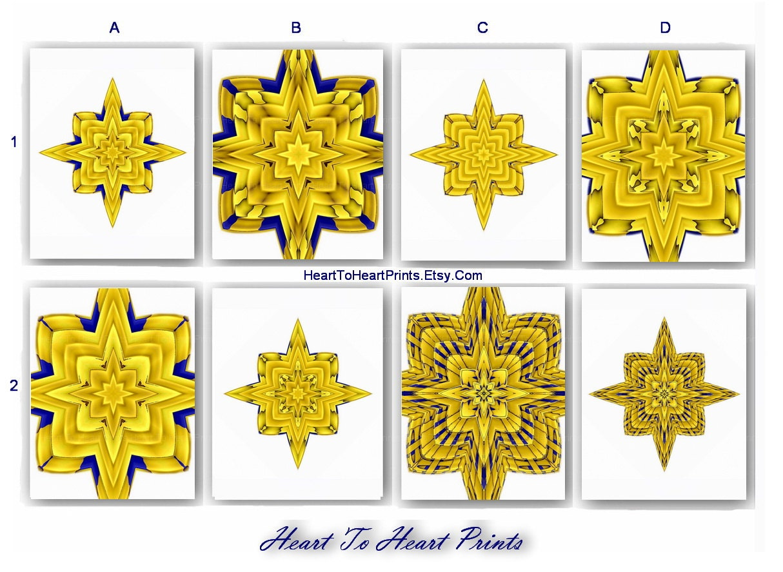 Gold Star Wall Decor: Gold Star Wall Decor Faux Gold Foil Art By HeartToHeartPrints