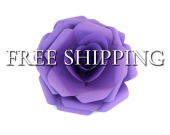 Purple Paper Flower, Purple Paper Rose, Purple Paper Flowers, Purple Paper Roses, Purple Flower, Purple Flowers, Paper Flower, Paper Flowers