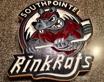 Southpointe Rink Rats Hockey Sign