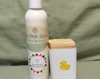 Baby Soft Lotion and Soap