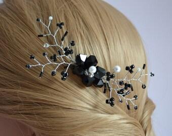 Hair vine bridal, hair vine, wedding hair vine,Bridal pearl hair vine.