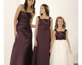 Bridesmaid and Flower girl dresses, bespoke made to measure