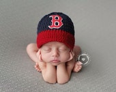 Made to Order Baby Boston Red Sox inspired Baseball Cap, Hat
