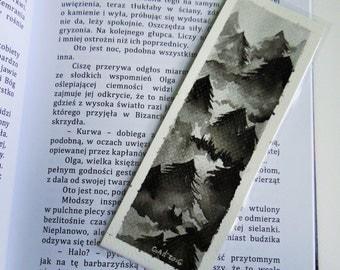 Black Forest bookmark [ORIGINAL ART]