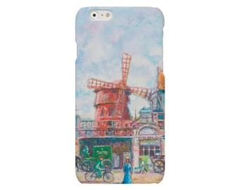 Moulin Rouge iPhone SE case Impressionism iPhone 6 Plus classic iPhone 5 cover Pissaro iPhone 6 iPhone 4 case  Samsung Galaxy S4 S5 S6 case