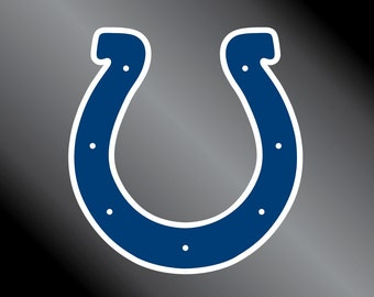 Indianapolis Colts Vinyl Decal Sticker