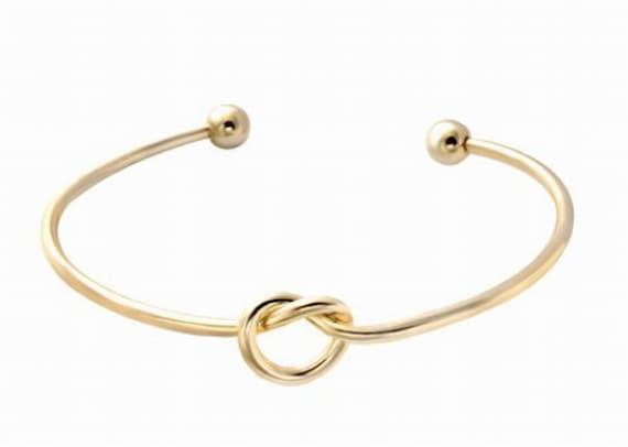 Tie the Knot Bracelets Bridesmaid Gift Bracelet Tie by ...
