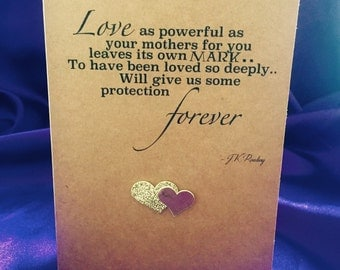 Harry Potter inspired Mother's Day card - JK Rowling quote