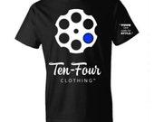 Men's Ten Four Classic Tee (Black)