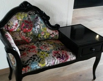 Restyled telephone bench