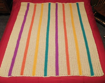 Home made crochet afghan