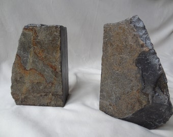 Maine Rock Bookends - Free Shipping