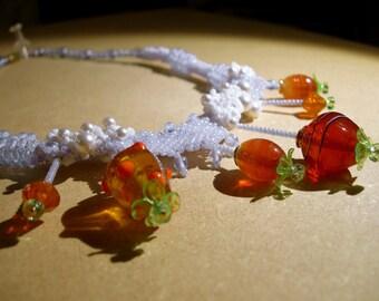 Balloonflower Necklace I