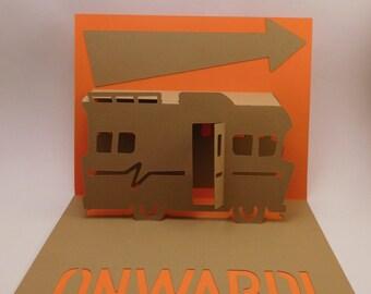 RV pop up card