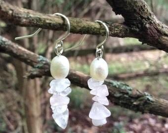 Magnolia Petal Earrings