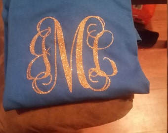 Shirt Sleeve T-Shirt Monogram