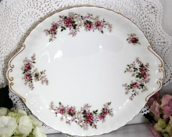 Royal Albert Lavender rose Cake plate 10 inch 26 cm first quality 1960s