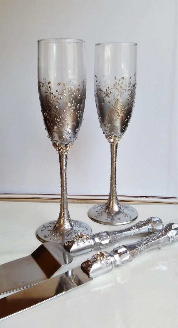 79 Wedding Cake Champagne Glasses