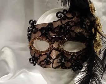 One of a kind, hand made mask