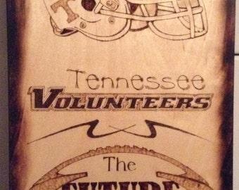 Tennessee VOLS Wodburning