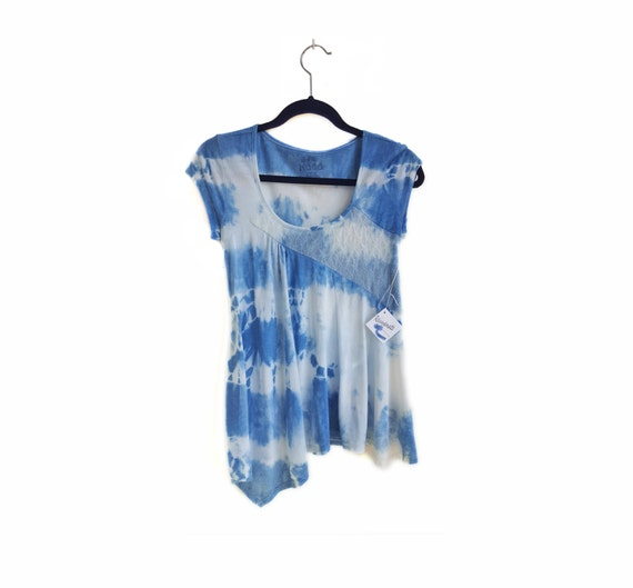 Indigo Shibori Shirt from BethRejuvenate