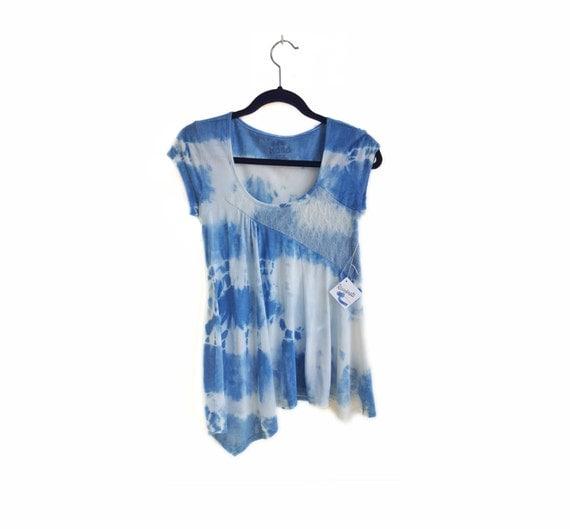 Indigo Shibori Shirt from BethRejuvenate