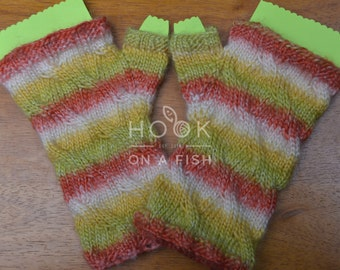 Sunshowers Knit Wristers