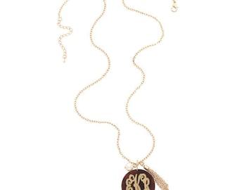 Acrylic Serendipity Necklace