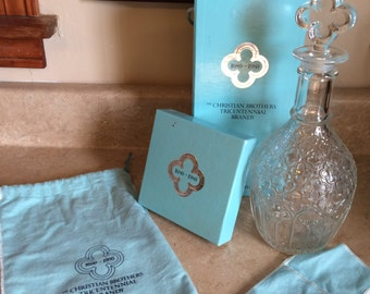 SALE! Tiffany and Co. brandy decanter