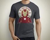 The Golden Avenger - Iron Man Lego T-Shirt