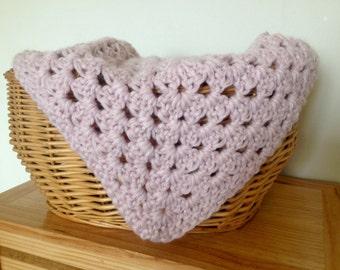 Baby layering blanket musky pink/ newborn baby layering blanket/ newborn photo props/ newborn baby blanket photo props